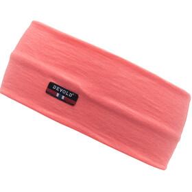 Devold Breeze Headband Coral